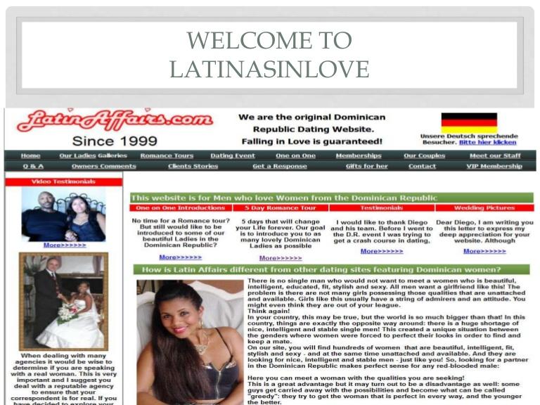 Com honest latin marriage agency