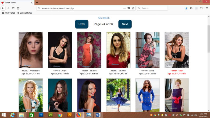 Odessa women search results