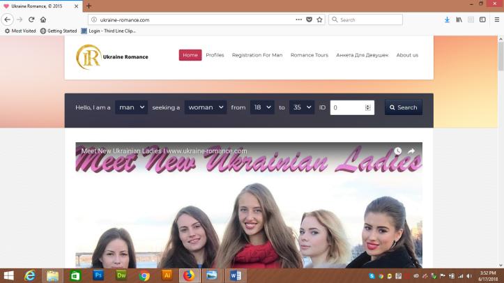 Ukraine Romance and Adventure website