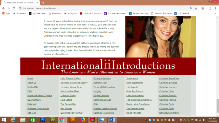 International Introductions website name