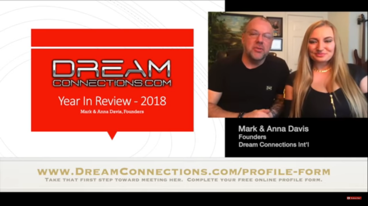 mark and anna davis of dream connections agency