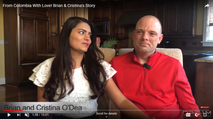 Dream Connections couple Brian and Cristina