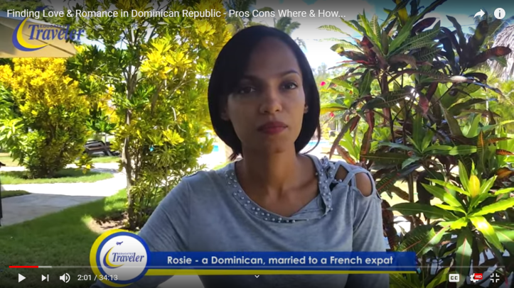 Mr T's interview with attractive and married Dominican woman