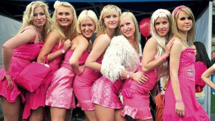 blondes in Riga, Latvia